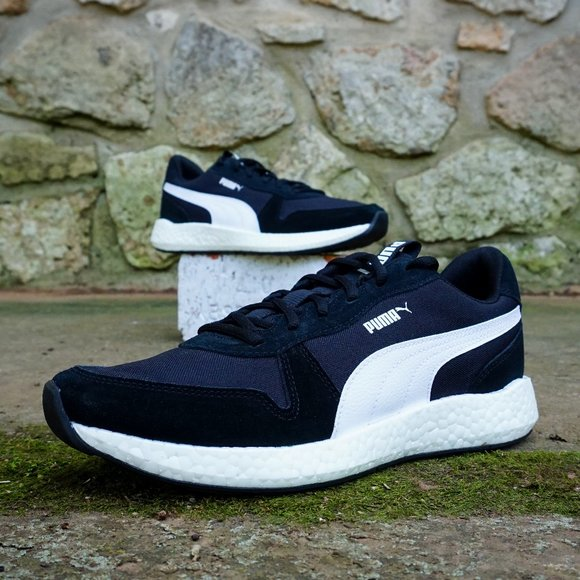 Puma Nrgy Boost Mens Running Shoes Size